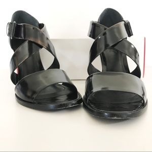Dkny Shoes - DKNY Harlow Criss Cross Leather Sandals